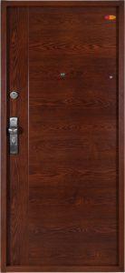 Bezpečnostné dvere HISEC Trend+ | Orech