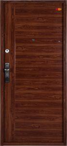 Bezpečnostné dvere HISEC Trend+ | Zlatý dub