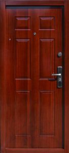 Bezpečnostné dvere HISEC Klasik | Mahagón