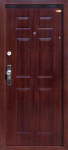 Bezpečnostné dvere HISEC Klasik | Orech