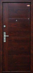 Bezpečnostné dvere HISEC Trend | Orech