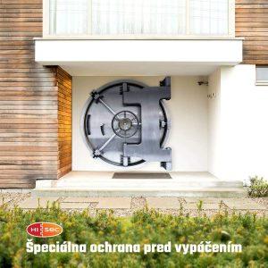 HISEC - Špeciálna ochrana pred vypáčením