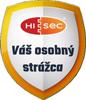 Logo HISEC - Váš osobný strážca