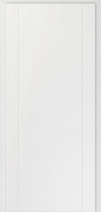 CAG Linie Vertik L2   Biela fólia