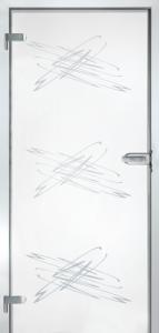 CAG POZ-1   Celosklenené dvere