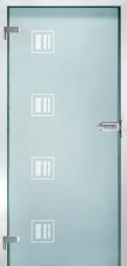 CAG NEG-3   Celosklenené dvere