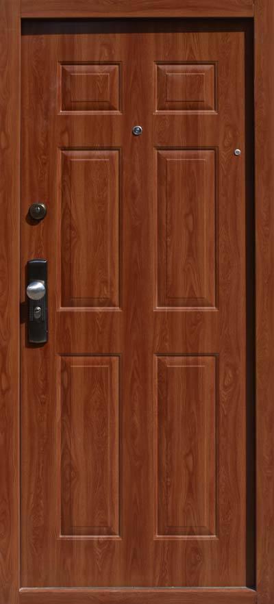 Bezpečnostné dvere HISEC Klasik | Zlatý dub