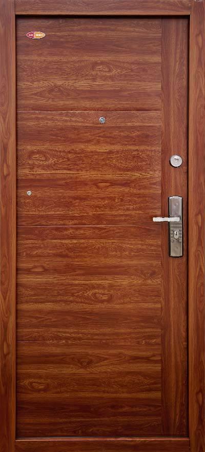 Bezpečnostné dvere HISEC Trend   Zlatý dub