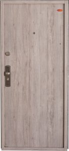 Bezpečnostné dvere HISEC Elegante | Dub šedý