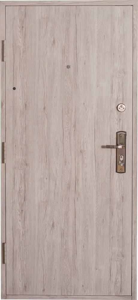 Bezpečnostné dvere HISEC Elegante   Dub šedý