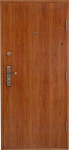 Bezpečnostné dvere HISEC Elegante | Dub svetlý